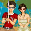 Casal de pesca