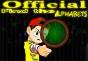 Jornal encontrar os alfabetos