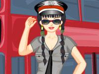 autista di autobus di bellezza