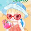 vestido de uma menina ador�vel
