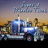 Super camion de 18 ruedas de camiones