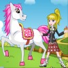 Jeux j'habille mon poney
