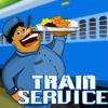Jeux serveur � bord d'un train