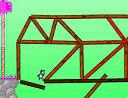 constru��o da ponte sobre o desfiladeiro