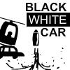 Jeux voiture noire et blanche