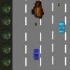 Jeux poursuite sur autoroute