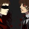 vestir a una pareja de vampiros