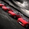 quebra-cabe�as: os carros vermelhos