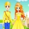 vestir y el maquillaje de un príncipe y la princesa