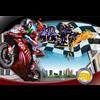 Jeux vitesse � moto