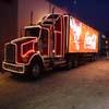 Jeux puzzle camion de coca-cola