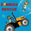 Jeux sauveur de zombie