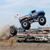 Jeux saut en monster truck