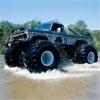 Jeux monster truck sur la plage