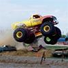 Jeux puzzle sauts de monster truck