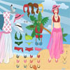 barbie vestir tropical