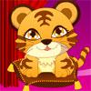 vestire un bambino tigre
