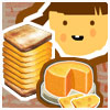memory game on the cheese