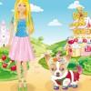 Barbie e seu cachorro
