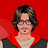 vestido de Johnny Depp