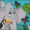 colorir um elefante