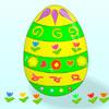 vestido de um ovo de p�scoa