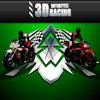 3d corrida de motos