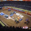 Puzzle monster truck interior corrida
