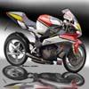 motocicleta quebra-cabe�as