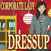 corporate lady dress-up