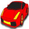coloriage de voiture de sport