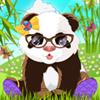 un mignon panda