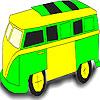 coloriage de bus scolaire