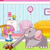 l'elephant du zoo