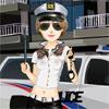 La femme policier