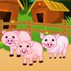 Sarah et les bébés cochons
