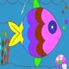 Un poisson plein de couleur