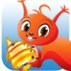 L'�cureuil et les poissons