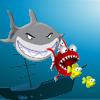 Les petits poissons et le requin