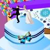 D�corer le g�teau de mariage