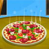 La d�coration d'une pizza