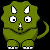 Un casse-brique avec un Dinosaure