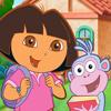 Dora en route pour l'école
