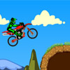 La d�monstration de moto-cross