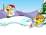 Une bataille de Boules de neige