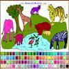 Des animaux � colorier