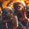 Une horde de Zombie