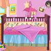 D�coration du lit de b�b�