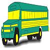 Le bus vert