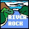 Des rochers sur la rivi�re